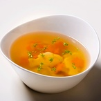 Polévka s kapříky