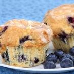 Modré muffiny