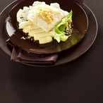 Pečená treska s bramborovo-květákovou kaší