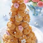 Svatební dort croquembouche