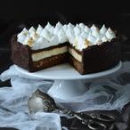 Tříčokoládový cheesecake