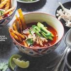 Výborná mexická rajčatová polévka