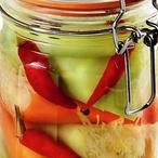 Pikantní papriky plněné zelím