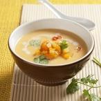 Pikantní bramborovo-dýňová polévka