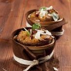 Bramborové muffiny se sušenými rajčaty