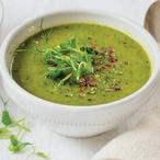 Zelená detoxikační polévka