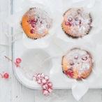 Celozrnné muffiny s rybízem