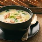 Rybí polévka s rybími knedlíčky