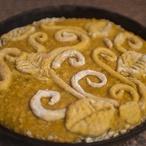 Dýňový mandlový koláč