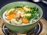 Kaldoun, polévka z husích drobů
