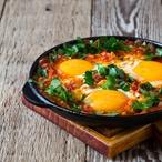 Marocká kořeněná vejce