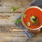 Rajčatová polévka se zázvorem
