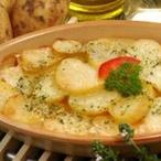 Zapékané brambory na smetaně