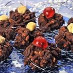Čokoládové hrudky s ořechy