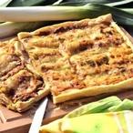 Sýrový koláč s pórkem