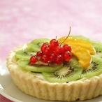 Celozrnný ovocný koláč