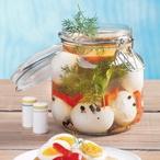 Nakládaná vejce v pikantním nálevu