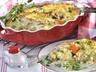 Gratinovaný zeleninový nákyp s masem