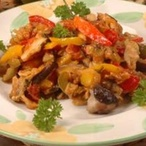 Bleskové ratatouille s houbami