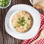 Vajíčková polévka s parmazánem