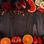 Salát s grapefruitem a sušeným ovocem