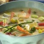Sýrová polévka se zeleninou