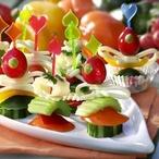 Zeleninové jednohubky