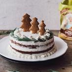 Vánoční dort s tvarohovým krémem