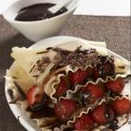 Čokoládové lasagne s ovocem