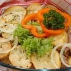 Vepřové kostky s brambory