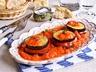 Grilovaný lilek s rajčaty