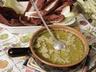 Bagna cauda - Horký česnekovo-ančovičkový dip