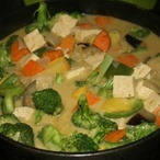 Thajské kari s tofu
