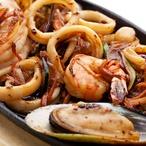 Calamari di Gamberi - Kalamáry plněné krevetami