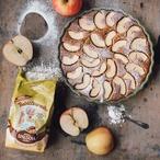 Jablečný koláč ze špaldové mouky