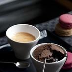 Křehký čokoládový dezert