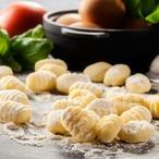 Bramborové gnocchi s pečenou dýní a šalvějí