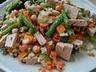Zakázaná rýže s mrkví a brusinkami