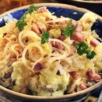 Šťouchanice z brambor, zelí a slaniny