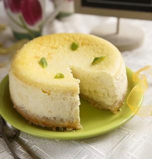 Citronovo-zázvorový cheesecake