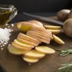 Pečené brambory v popelu
