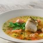 Třeboňská rybí polévka