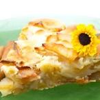 Jablečný koláč s medem a rumem