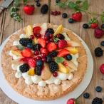Dacquoise s letním ovocem