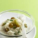 Mléčná rýže s angreštem