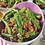 Pšeničný salát s fazolkami