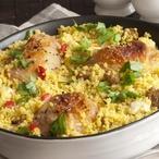 Marocké kuře na kuskusu