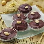 Nepečené kakaové košíčky s višní