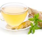 Zázvorový čaj s meduňkou