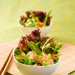 Sladkokyselý salát s tofu